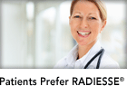 Patients Prefer RADIESSE<sup>®</sup>